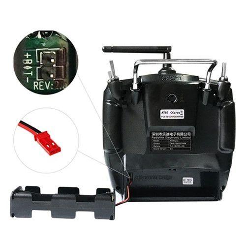 Radiolink AT9S Pro 2.4G 12 Kanal DSSS FHSS Kumanda ve 9 Kanal R9DS Alıcı