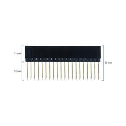 Raspberry Pi 2x20 Ekstra Uzun Header - Tek Sıra Yükseltici Parça - Thumbnail