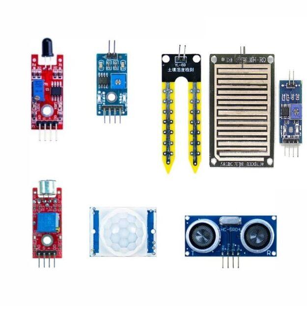 Raspberry / Arduino Starter Sensor Set - 15in1