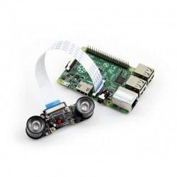 Raspberry Pi Kamera için İnfrared Led Kartı (Çift) - Thumbnail