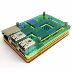 WaveShare - Raspberry Pi B/2/3 Gökkuşağı Case'i