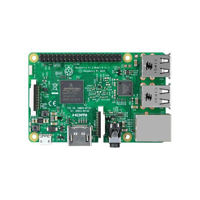 Raspberry Pi 3 Model B+ Kombo Kit - Raspberry Pi 3 Model B+ - Muhafaza Kutusu - Adaptör - SD Kart