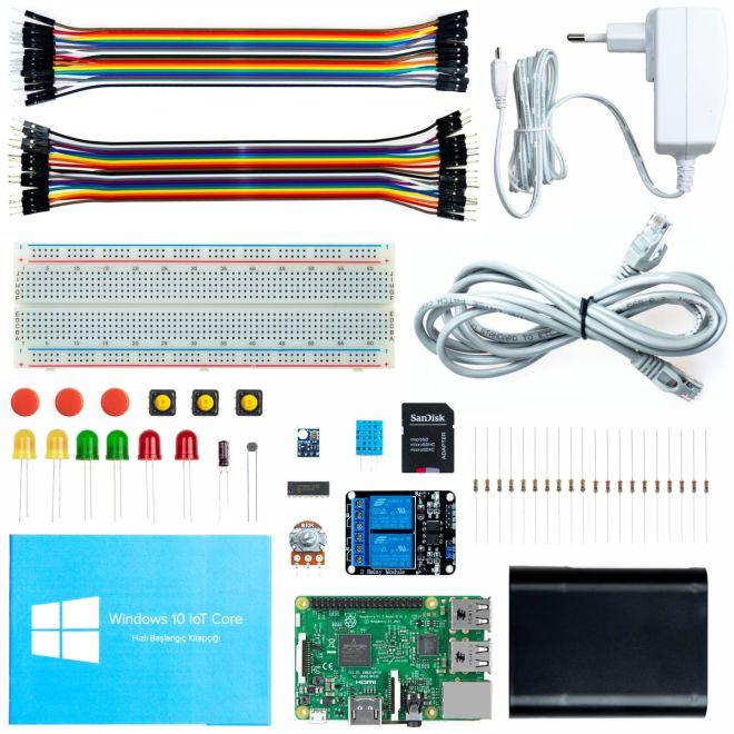 Raspberry Pi 3 Model B Microsoft IoT Seti (Windows 10 IoT)