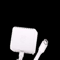 Raspberry Pi 4 Lisanslı Güç Adaptörü 5V 3A USB-C - Thumbnail