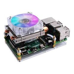 ODSEVEN - Raspberry Pi 4 RGB Soğutma Fanı - Düşük CPU