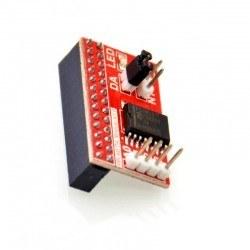 Raspberry Pi B/A+/B+/2/3 AD/DA Genişletme Kartı - Thumbnail