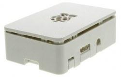 Raspberry Pi 3/2/B+ Beyaz Muhafaza Kutusu - Pi 3/2/B+ White Case - Thumbnail