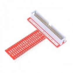 Robotistan - Raspberry Pi 3/2/B+/A+ GPIO-Breadboard Kartı - T Tye GPIO Board