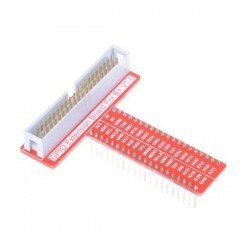 Raspberry Pi 3/2/B+/A+ GPIO-Breadboard Kartı - T Tye GPIO Board - Thumbnail