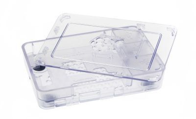 Raspberry Pi B+/2/3 Şeffaf Muhafaza Kutusu - Pi 2/B+ Clear Case