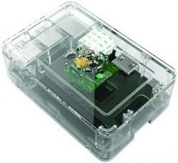 Raspberry Pi B+/2/3 Şeffaf Muhafaza Kutusu - Pi 2/B+ Clear Case - Thumbnail