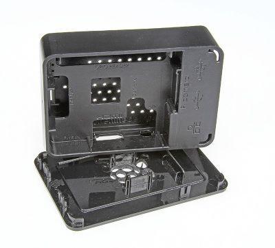 Raspberry Pi B+/2/3 Siyah Muhafaza Kutusu - Pi 2/B+ Black Case