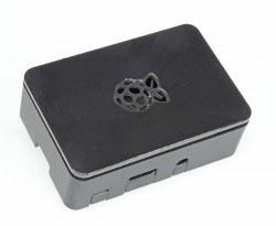 Raspberry Pi - Raspberry Pi B+/2/3 Siyah Muhafaza Kutusu - Pi 2/B+ Black Case