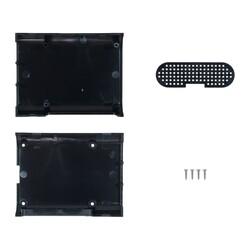 Robotistan - Raspberry Pi 3/2/B+ Siyah Muhafaza Kutusu - Pi 3/2/B+ Black Case