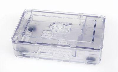 Raspberry Pi B+/2/3 Clear Case
