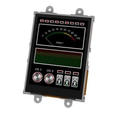 Raspberry Pi 3.2′′ Touch LCD Module Kit - SK-32PTU-PI