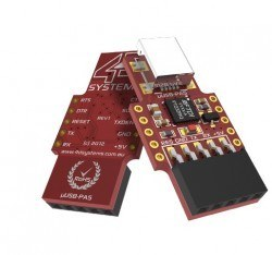Raspberry Pi 4.3′′ Touch LCD Module Kit - SK-43PT-PI - Thumbnail