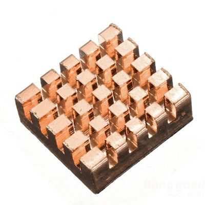 Copper Heatsink For Raspberry Pi