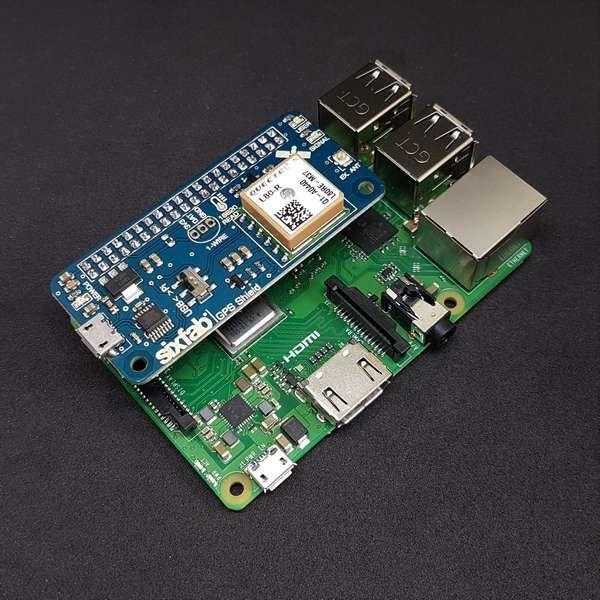 Sixfab Raspberry Pi GPS Shield