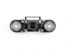 WaveShare - Raspberry Pi Kamera - Ayarlanabilir Fokus + Kızılötesi Led Modülü (F)