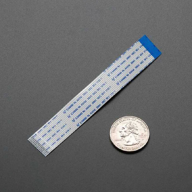 Raspberry Pi Kamera / Ekran Esnek Kablosu - 100 mm