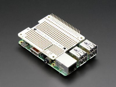 Raspberry Pi PermaProto Breadboard Shield'ı