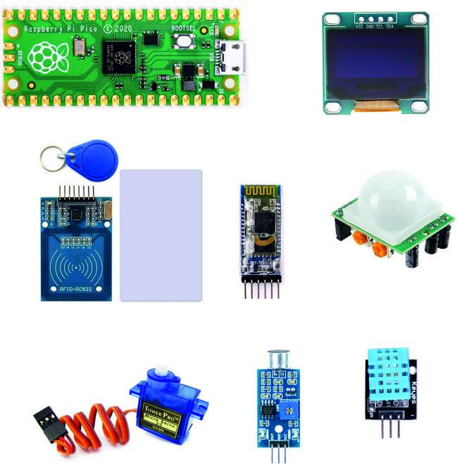 Raspberry Pi Pico Mega Seti