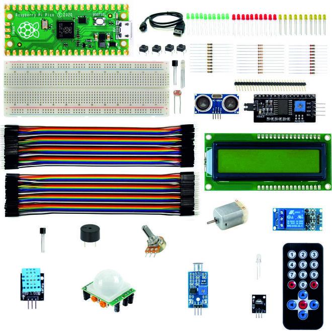 Raspberry Pi Pico Super Starter Kit