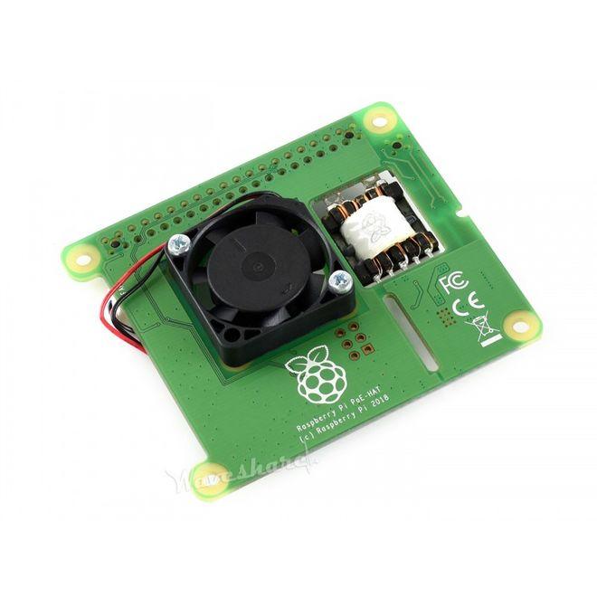 Raspberry Pi PoE HAT (Ethernet Üzerinden Besleme)