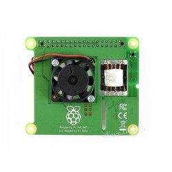 Raspberry Pi PoE HAT (Power over Ethernet) - Thumbnail