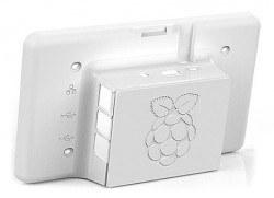 Raspberry Pi Resmi Ekran Case'i - Beyaz - Thumbnail