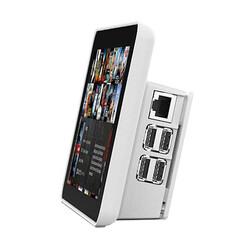 Raspberry Pi - Raspberry Pi Resmi Ekran Case′i - Beyaz