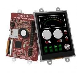 Raspberry Pi 2.8 Inch Dokunmatik LCD Modül Kiti - SK-28PTU-PI - Thumbnail