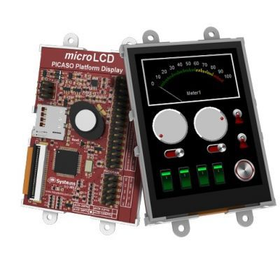 Raspberry Pi 2.8 Inch Dokunmatik LCD Modül Kiti - SK-28PTU-PI