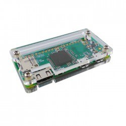 Robotistan - Raspberry Pi Zero Case - Clear