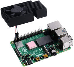 Raspberry Pi 4B/3B/3B+ (B Plus) İçin Alüminyum Soğutma Kiti - Thumbnail