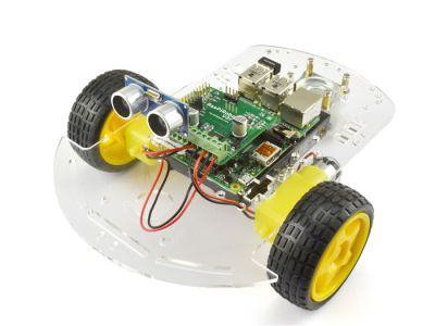 RaspiRobot Raspberry Pi Motor Sürücü Kartı - TB6612FNG