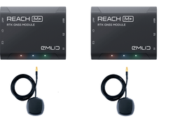 Emlid - Reach M+ RTK Kit (Reach M+ (X2) + Tallsyman Antenna (X2))