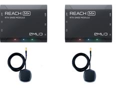 Emlid - Reach M+ RTK Seti (Reach M+ (X2) + Tallsyman Anten (X2))