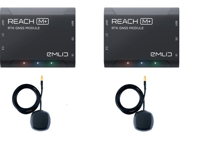 Reach M+ RTK Seti (Reach M+ (X2) + Tallsyman Anten (X2))