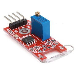 Robotistan - Reed Relay Board (Reed Relay) - Red PCB