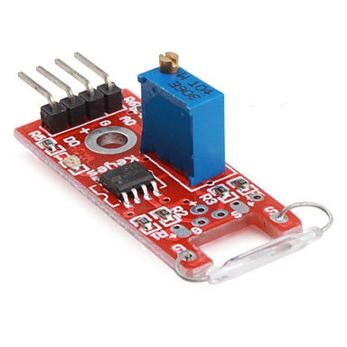 Reed Relay Board (Reed Relay) - Red PCB