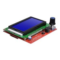 RepRap Ramps 1.4 Uyumlu 128x64 Grafik GLCD Ekran Kiti - Full Graphic Smart - Thumbnail