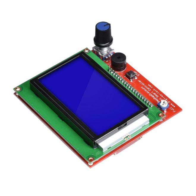 RepRap Ramps 1.4 Uyumlu 128x64 Grafik GLCD Ekran Kiti - Full Graphic Smart