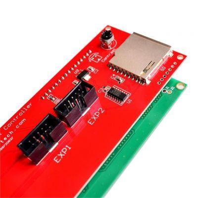 RepRap Ramps 1.4 Uyumlu 4x20 LCD Ekran Kiti - Smart Controller