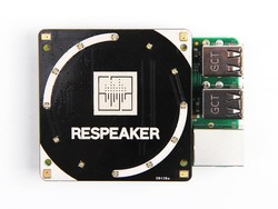ReSpeaker 4-Mic Array for Raspberry Pi - Thumbnail