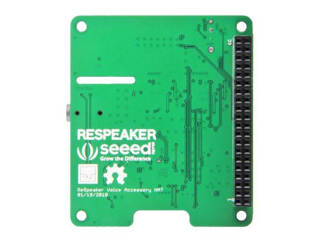 ReSpeaker 4'lü Mikrofon Kiti (Raspberry Pi İçin)