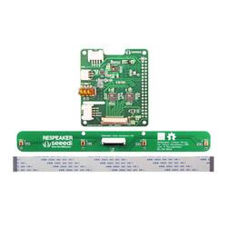 SeeedStudio - ReSpeaker 4'lü Mikrofon Kiti (Raspberry Pi İçin)