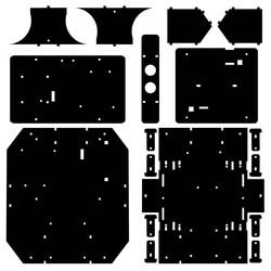 R.E.X Evolution Serisi Survivor Robot Kiti - 4 in 1 (mBlock5 ve Arduino IDE Uyumlu) - E-Kitap Hediyeli - Thumbnail