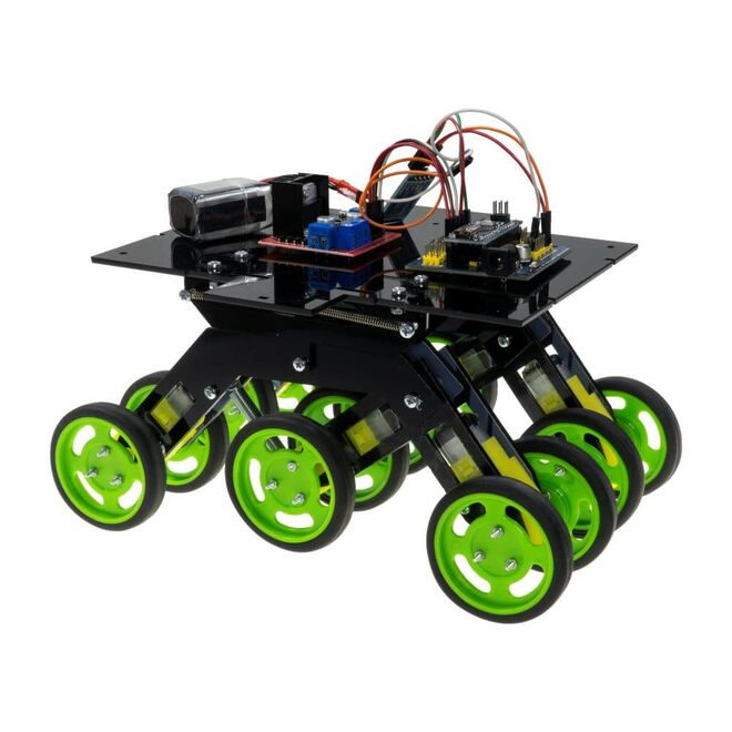 R.E.X Evolution Serisi Robot Kiti - Pleksi Eklenti Paketi